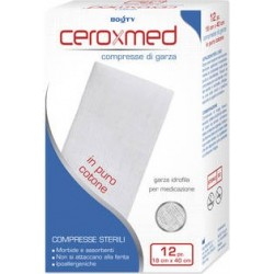 Dressing Pads Sterile Of Hydrophilic Gauze 18 x 40 x 12