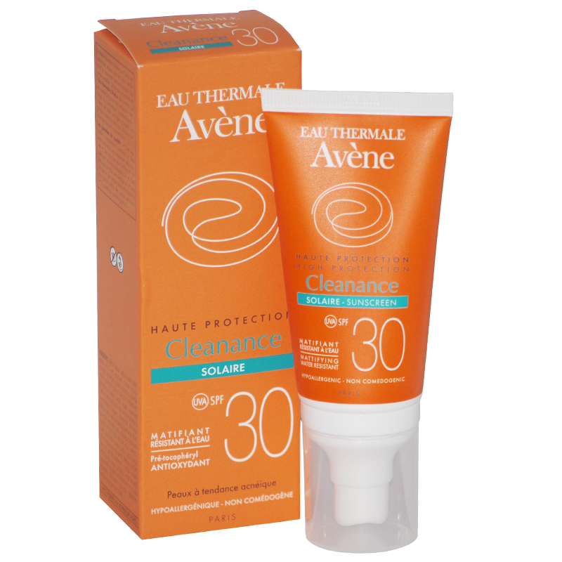 Cleanance Sunscreen High Protection Spf 30 For Acne-Prone Skin 50 Ml