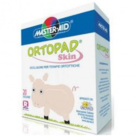 ORTOPAD - Occluder Adhesive Skin For Therapies Orthotic Pink Junior 20 Pieces