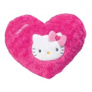 Heart-shaped pillow assorted colors