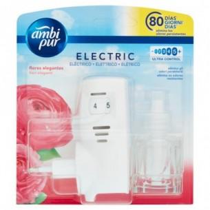 Air Freshener eletric Diffuser +elegant flowers refill