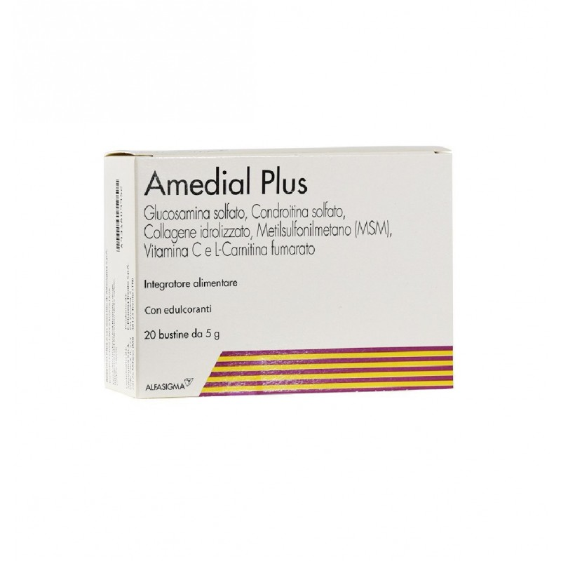 ALFASIGMA - Supplement Amedial Plus For Bones And Joints 20 Sachets