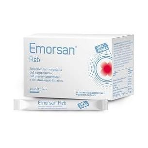 Emorsan Fleb - food supplement for microvasculature health 14 stick