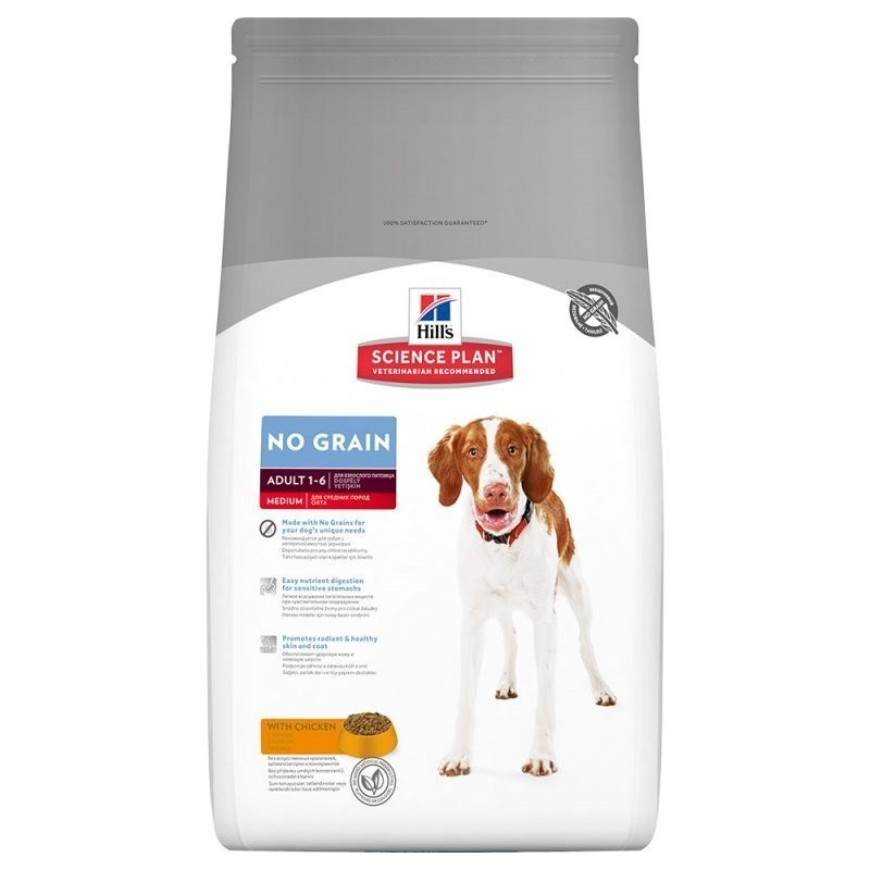 Hill S - science plan canine - dry food for adult dogs cereals free-chicken 12 kg