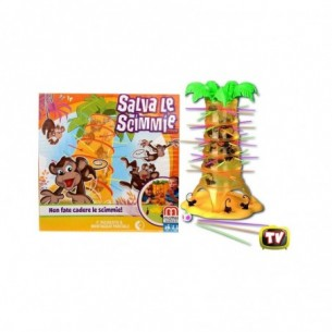 Save the monkeys - board game