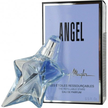 THIERRY MUGLER - Angel - Eau De Parfum for women Spray 15 Ml Refillable