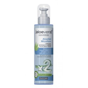 Aloevera2 AloeGel Micellare - face cleanser 200 ml