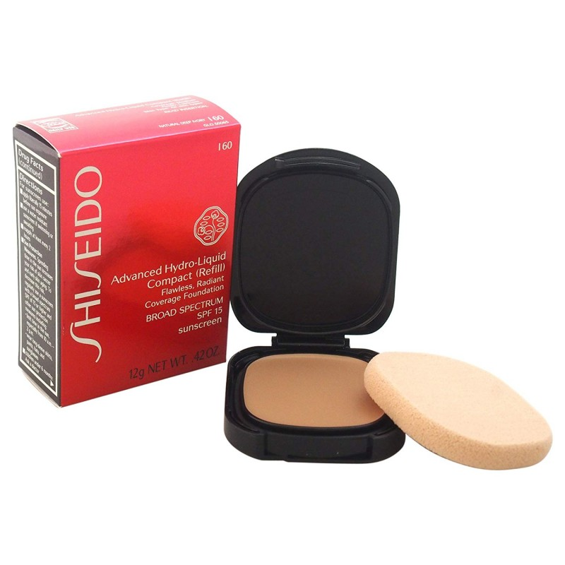 Shiseido - advanced hydro-liquid - compact foundation I60 deep ivory Refill