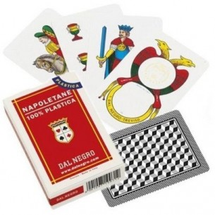 Neapolitan pattern Playing Cards - Red Case - pack of 10 decks