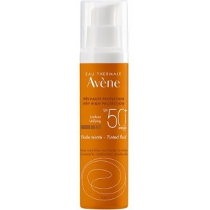 Tinted fluid Spf 50+ sun protection 50 ml