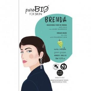 Brenda Face cream mask for Dry Skin grape fragrance