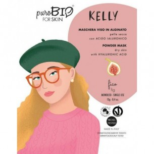 Kelly Face mask in alginate for Dry Skin with fig