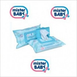 Hygienic Wipes With Proteins Of Wheat Germ 80 Pcs