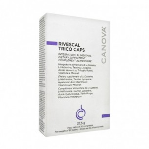 Rivescal Trico Caps 30 tablets - hair loss supplement
