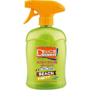 Beach party -  pina colada solar water 500 ml