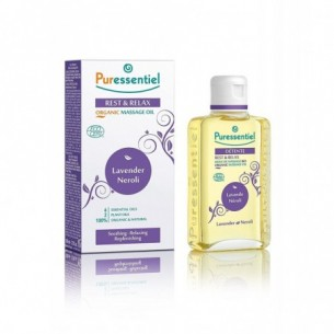 Organic massage oli Lavender Neroli 100 ml