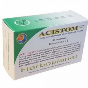 Acistom New - Digestive System support 48 Tablets