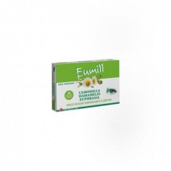 Eye Drops Eumill Refreshing 10 Vials Single Dose 0,5 ml