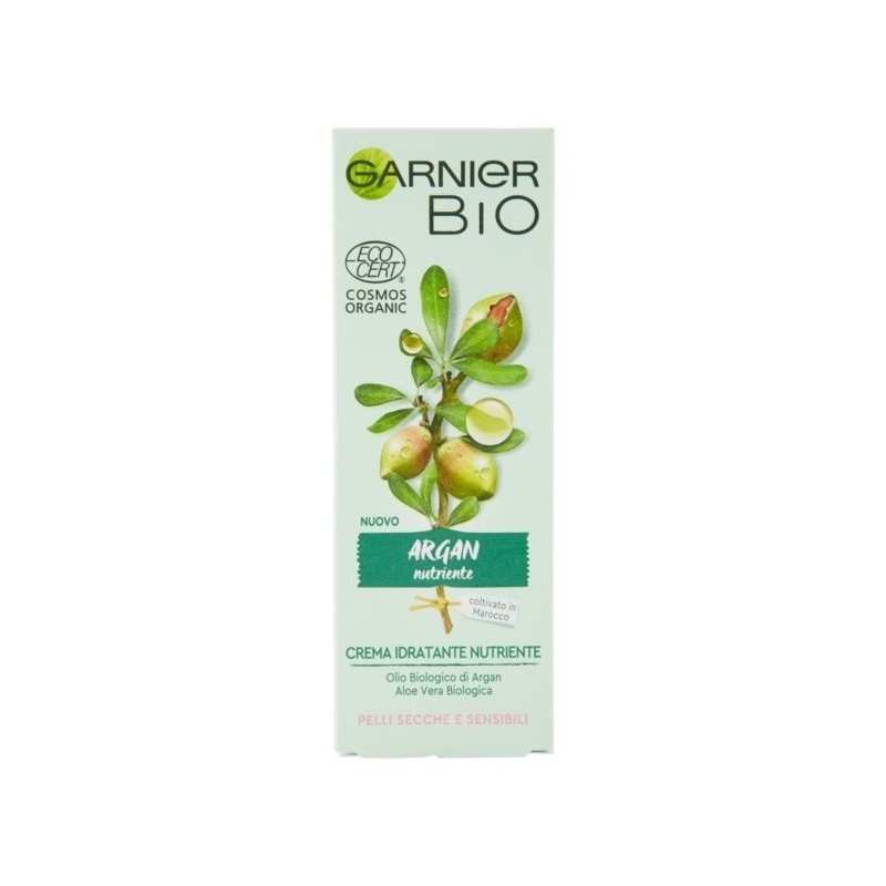 GARNIER - Organic - Rich Argan - Nourishing care for dry, sensitive skin 50 ml