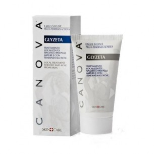 Gel Cream Glyzeta For Face Oily And Impure Skin 50 Ml