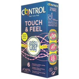 Touch & Feel Easy Way - 6 condoms