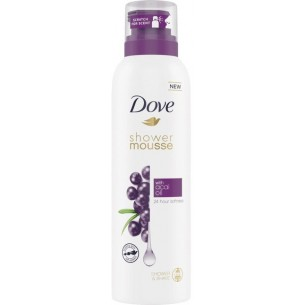 Shower mousse with acai oil 200 ml