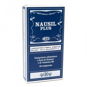 Nausil Plus - digestive aid supplement 30 Tablets