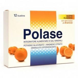Magnesio e Potassio - Energy Food Supplement 12 sachets Orange Flavor