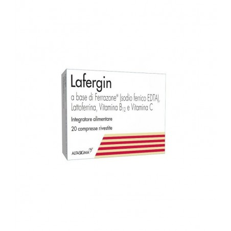 ALFASIGMA - lafergin - dietary supplement based on iron and vitamins - 20 tablets