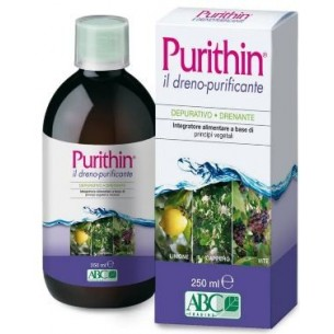 Purithin il Dreno-Purificante - Body Cleanse food Supplement 250 ml