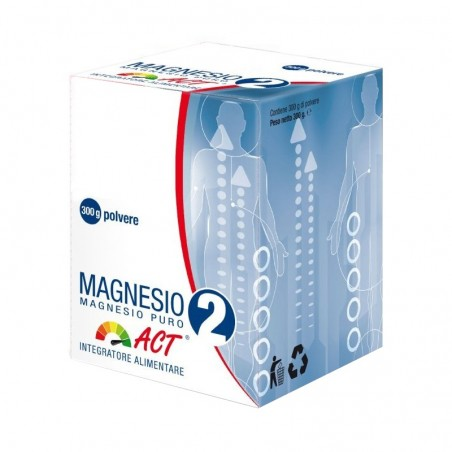 F & F - magnesium pure act 2 mg - dietary supplement - 300 g