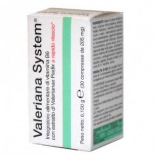 valeriana system - sleep aid supplement 30 tablets