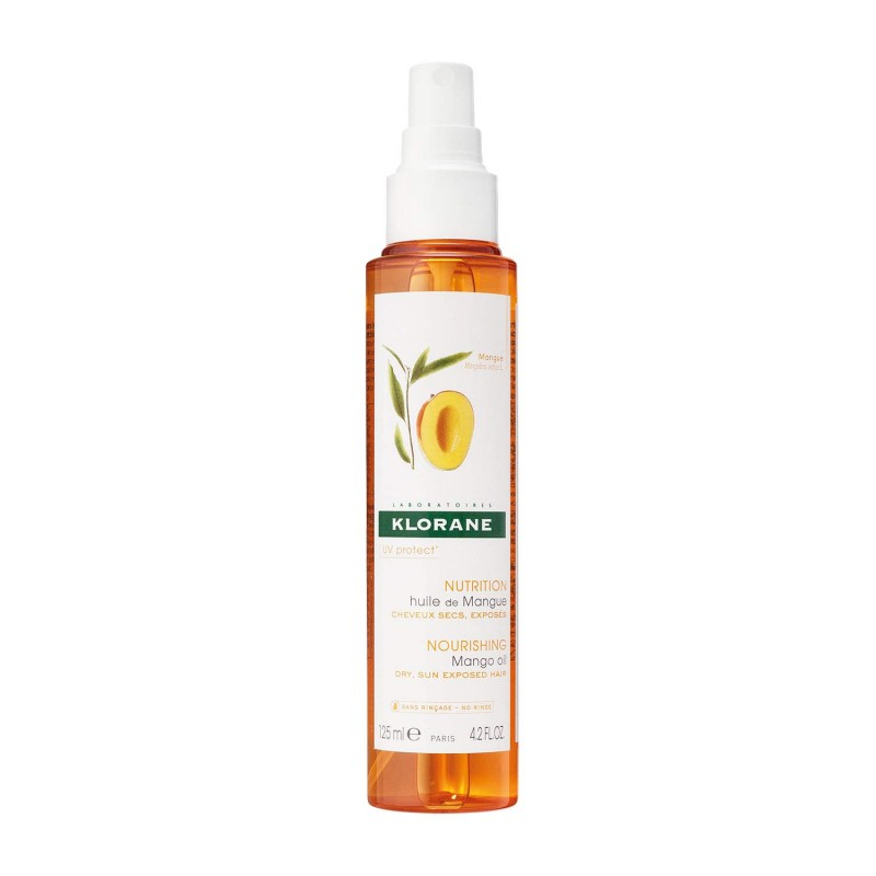 Klorane - nourishing after shampoo treatment with mango oil - spray 125 ml