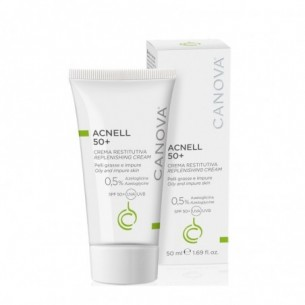 Acnell 50+ Cream Gel - Face cream for combination, oily and acne skin