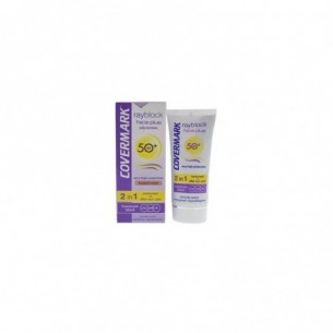 Rayblock Face Plus oily/acneic SPF50+ 2in1 - tinted cream - light beige