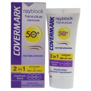 Rayblock Face Plus oily/acneic SPF50+ 2in1 - sunscreen + aftersun care 50ml
