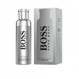 boss bottled on the go - eau de toilette for man 100 ml spray