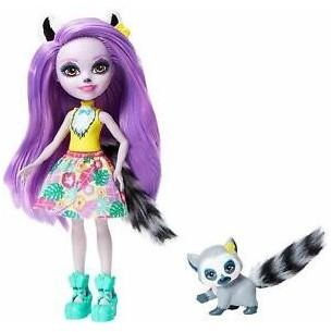 Enchantimals Larissa Lemur & Ringlet