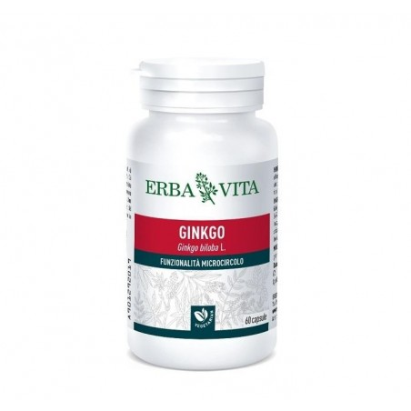 ERBA VITA - Ginko - Microcirculation Supplement 60 Capsule