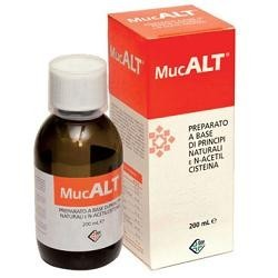 Syrup Mucalt For The Respiratory System 200 Ml