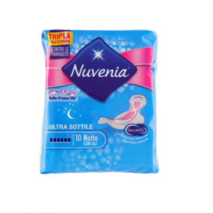 Sanitary Pads With Wings Ultra Thin Goodnight 10 Pads