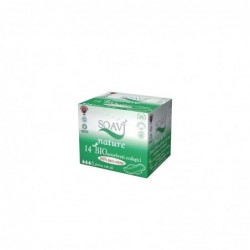 nature - 14 ecological day sanitary pads with wings