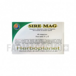 Sire Mag - Supplements to Fight Tiredness 60 tablets