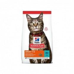 science plan adult cat - dry food tuna 1,5kg