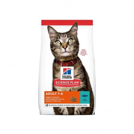 Hill S - science plan adult cat - dry food tuna 1,5kg