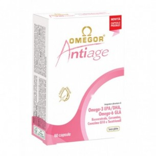 omegor antiage - skin health supplement 60 capsules