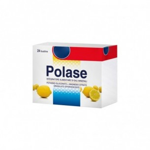 polase limone - minerals supplement 24 sachets