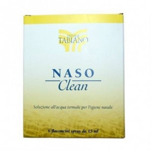 nasoclean 6 vials 15 ml - saline solution for nasal hygiene
