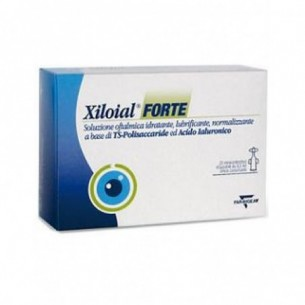 Xiloial Forte - hydrating ophthalmic solution 20 vials