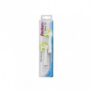 Power Plus electric toothbrush - 2 replacement brush heads